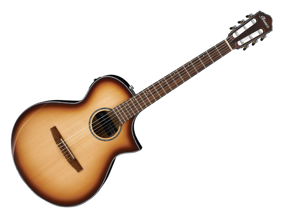 Ibanez AEWC300-NNB Comfort Acoustic-Electric Guitar Brown
