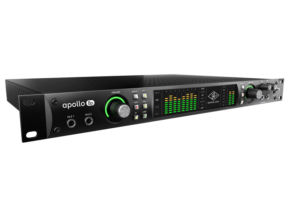 music passion 87 universal audio apollo 8p interface thunderbolt. Black Bedroom Furniture Sets. Home Design Ideas