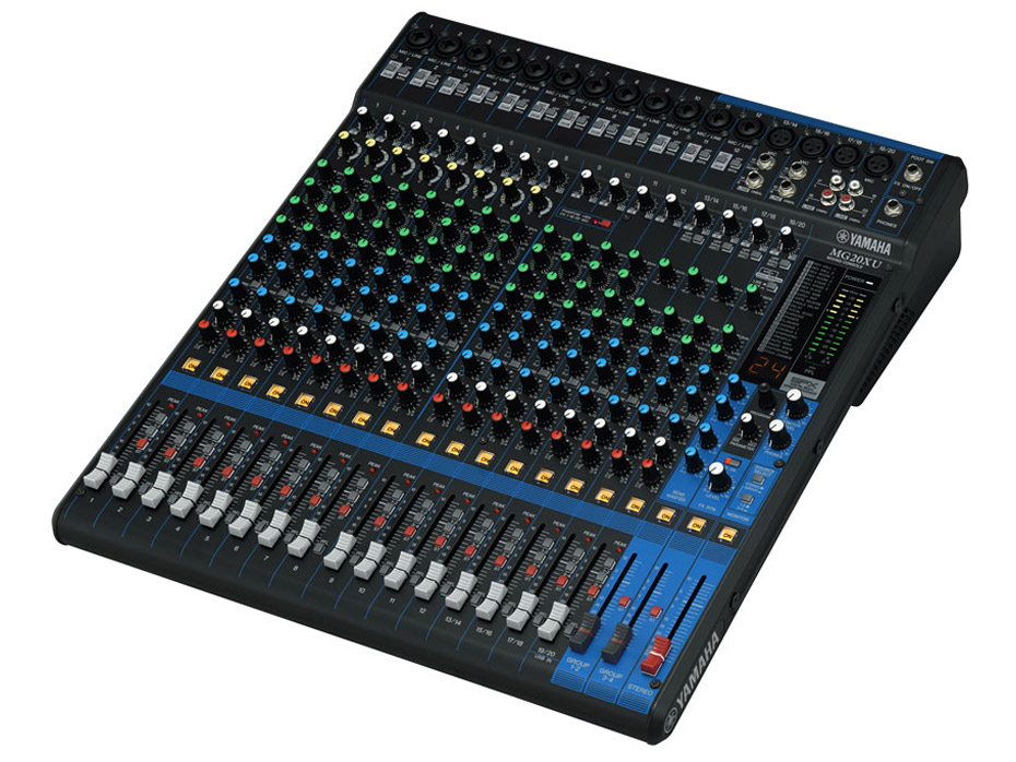 Music passion 87 yamaha mg20xu - Table de mixage professionnelle studio ...